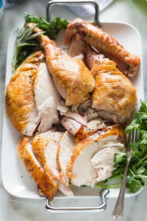 citrus  herb butter roast turkey   blog recipes