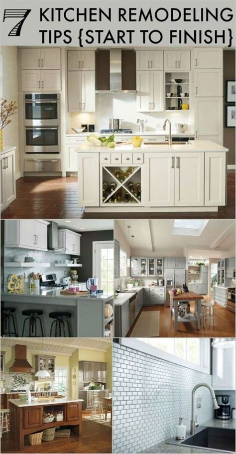 kitchen remodeling tips start  finish home beautiful  inspiration