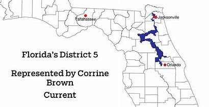 Brown District Map Corrine Districts Florida Congressional