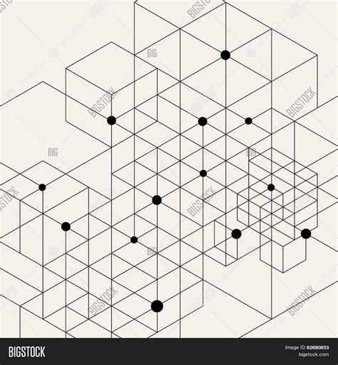 vector modern pattern black vector bigstock