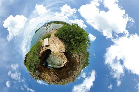Foto aarde - panorama-effect. Gratis foto's om te printen - afb 15623.