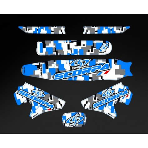 kit decoration for moto cross and enduro idgrafix fr kit d 233 co