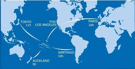 une carte qui compare la taille de la polyn 233 sie avec celle de l europe une carte du