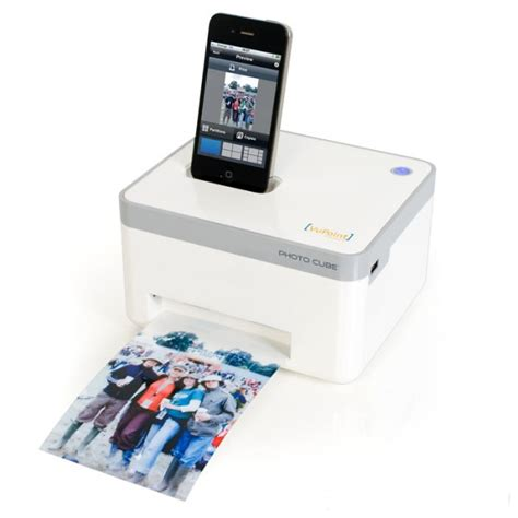 iphone printers photo cube smartphone printer