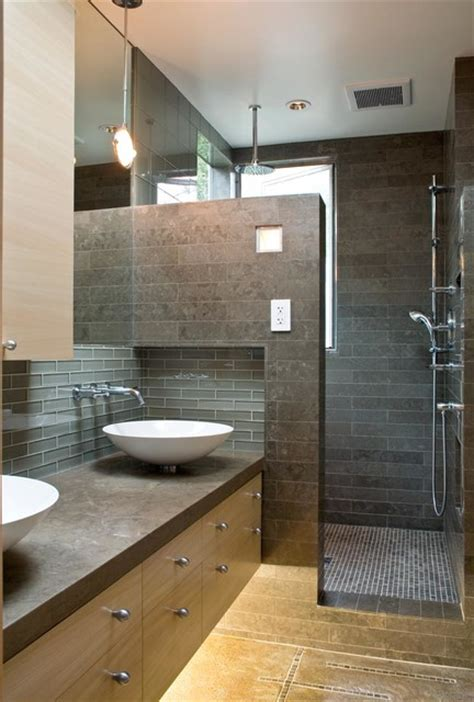 modern bathroom decor ideas a modern and cozy family home contemporary bathroom