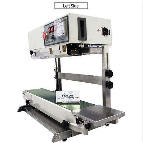 ytk fr  vertical semi automatic continuous film plastic bag sealing machine