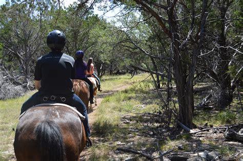 riding horseback near austin texas north