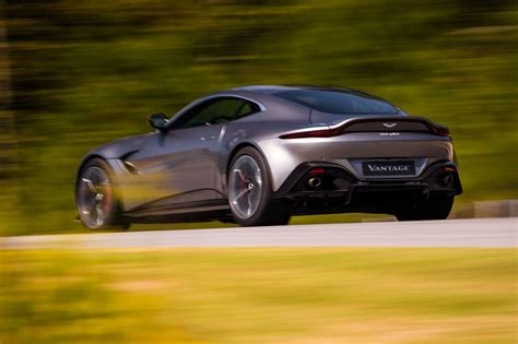 Aston Martin Vantage by The New 2018 Aston Martin Vantage Revealed In Pictures By