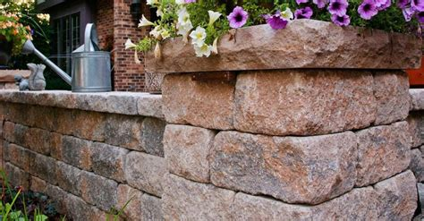 Unilock Retaining Wall Blocks - 5 wall blocks for stunning vertical landscape elements and