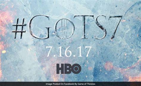 game  thrones season  date revealed teaser hints