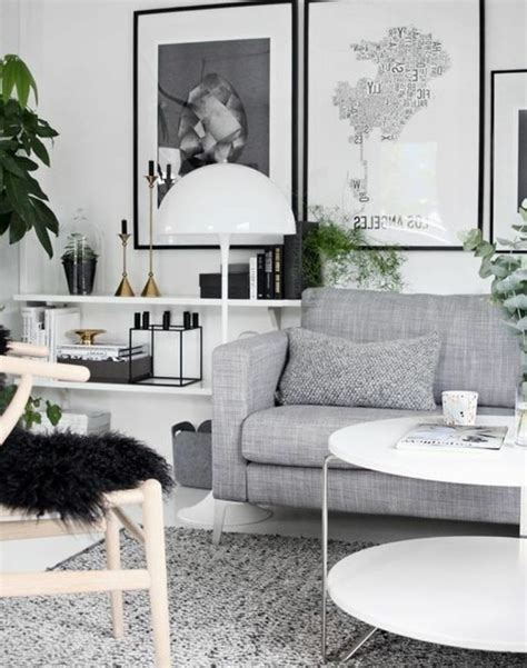 ou trouver des coussins pour canapé un salon en gris et blanc c 39 est chic voilà 82 photos qui