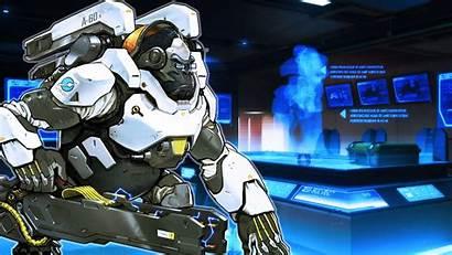 Winston Overwatch Wallpapers Games Blizzard Backgrounds Desktop