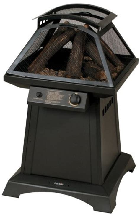 Charbroil 04501144 Trentino Gas Log Outdoor Fireplace