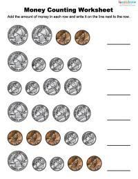 money worksheets for children lovetoknow