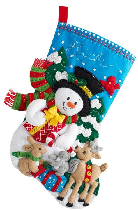 vintage frosted gingerbread embroidered felt 28 images 29 1000 images about bucilla felt christmas stockings on pinterest christmas stocking kits