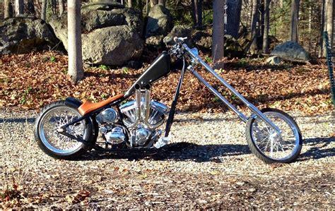 Custom Hardtail Chopper-wolf