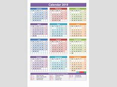 US government calendar 2019 2019 Calendar printable 2018