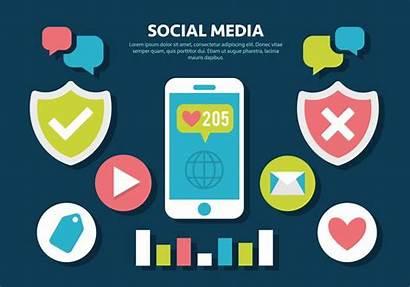 Social Vector Illustration Vectors Clipart Edit Non