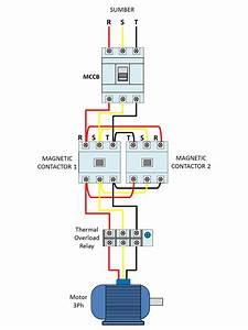 Wiring Diagram Motor Listrik 3phase Dengan 2 Arah Putaran