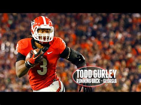 nfl draft profile georgia rb todd gurley running bite
