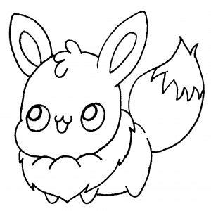 Dibujos de Pokemon para colorear kawaii Dibujando con Vani