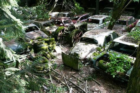 Boat Salvage Yards Virginia by An Abandoned Junk Yard In Switzerland