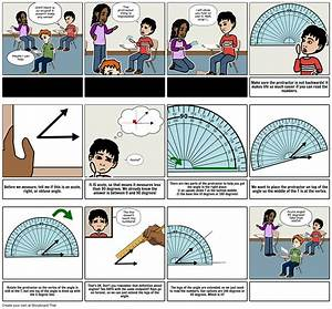 How To Use A Protractor Storyboard By Anna