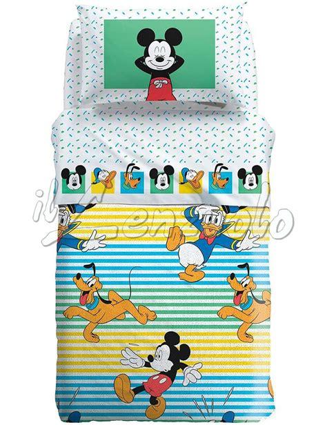 Copriletto Matrimoniale Disney by Copriletto Singolo Disney Mickey Estate Trapuntino Estivo