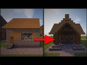 Minecraft Village Library House