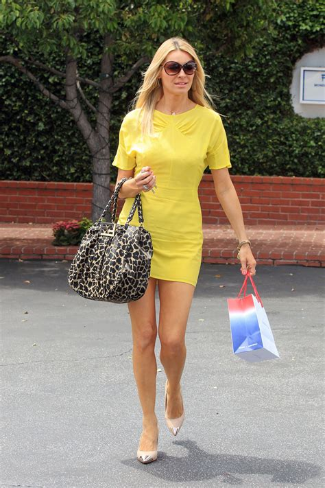 TESS DALY Leggy Candids at Fred Segal in Los Angeles ...