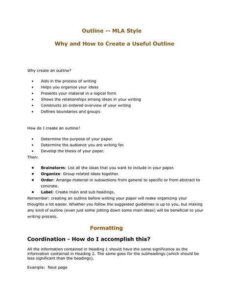 Mla Format Essay Outline Undergraduate Dissertation Proposal Example