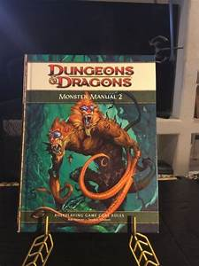 Monster Manual 2  Dungeons  U0026 Dragons  4th Edition
