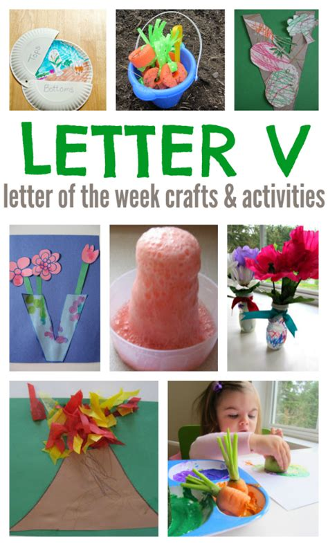 letter of the week letter v crafts and activities no 426 | letter v letter of the week crafts and activities
