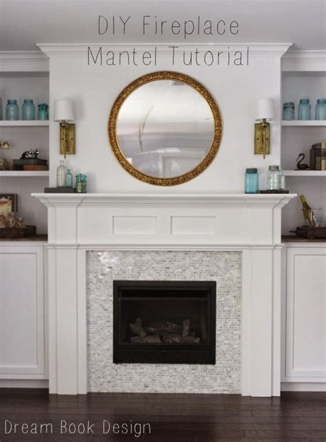 how to make a fireplace mantel diy fireplace mantel woodworking projects plans