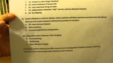 defnition speech informal outline youtube