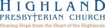 hpc highland presbyterian church nursery and weekday school 292   highland logo