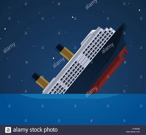 Sinking Boat Illustration by Sinking Ship Illustration Stock Photo Royalty Free Image