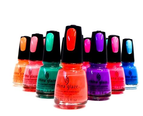 China Glaze Nail Polish Lacquer Assorted Colors Variety