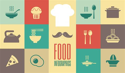 home design education food icons infographicsource com infographic templates