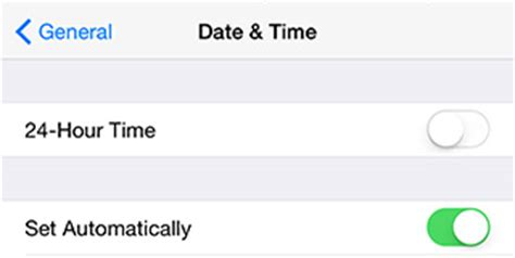 will my iphone time change automatically how to fix facetime or imessage activation error on iphone