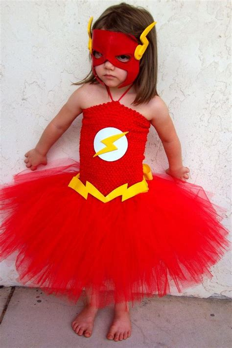 The Flash Inspired Tutu Dress Costume By