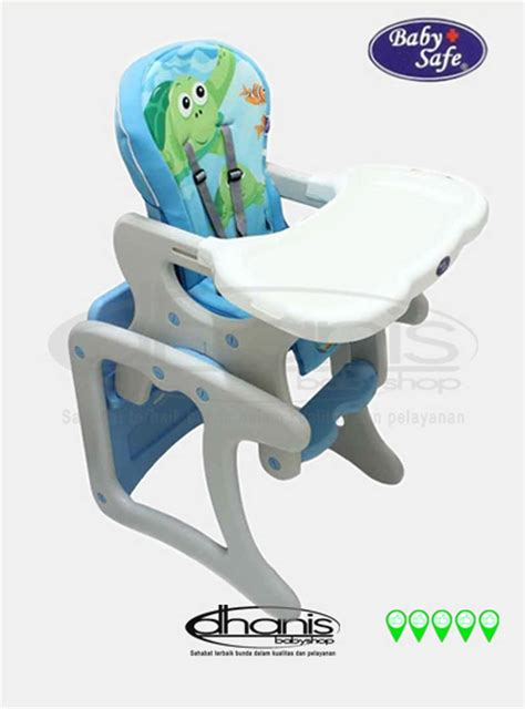 jual kursi makan bayi baby safe high chair separate table