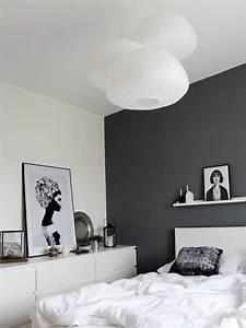 Graue Tapete Schlafzimmer : ikea kleiderschrank gestalten ~ Michelbontemps.com Haus und Dekorationen