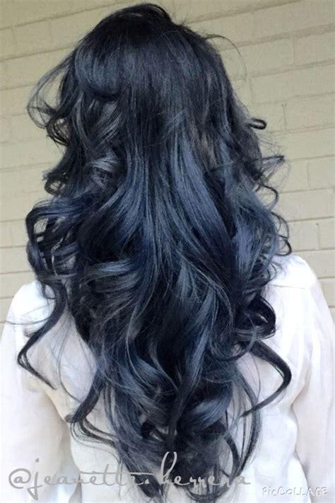 Best 25 Navy Hair Ideas On Pinterest Navy Blue Hair Dye