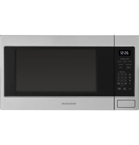 lowest price  ge monogram zebshss appliances shop today countertop microwave oven