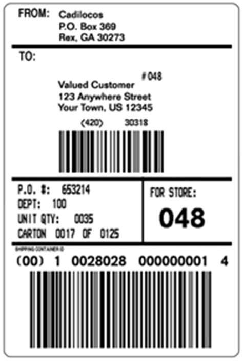 shipping label template word printable label templates