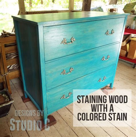 colored stain staining a project try a colored stain