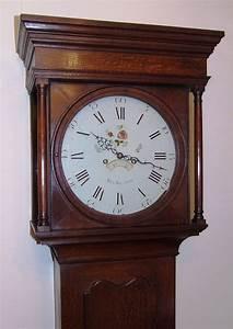 antique, oak, longcase, grandfather, clock, by, rea, , walton, for, sale