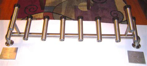 custom tool box rod holder solid stainless   hull truth boating  fishing forum