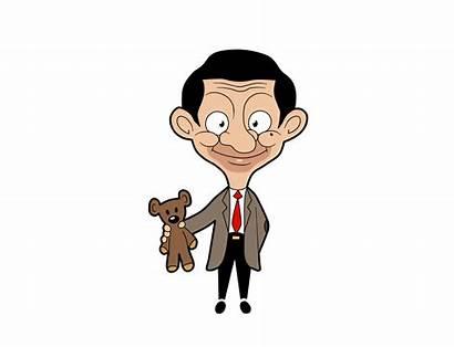 Bean Mr Animated Clipart Cartoon Castle Smile